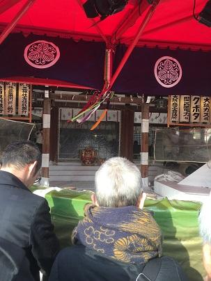 サンセイホームスタッフ一同で、今宮戎神社「えべっさん」