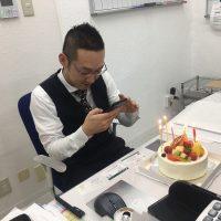 松倉社長の誕生日