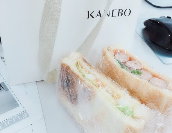 社長手作りのサンドイッチが美味しかったお話。