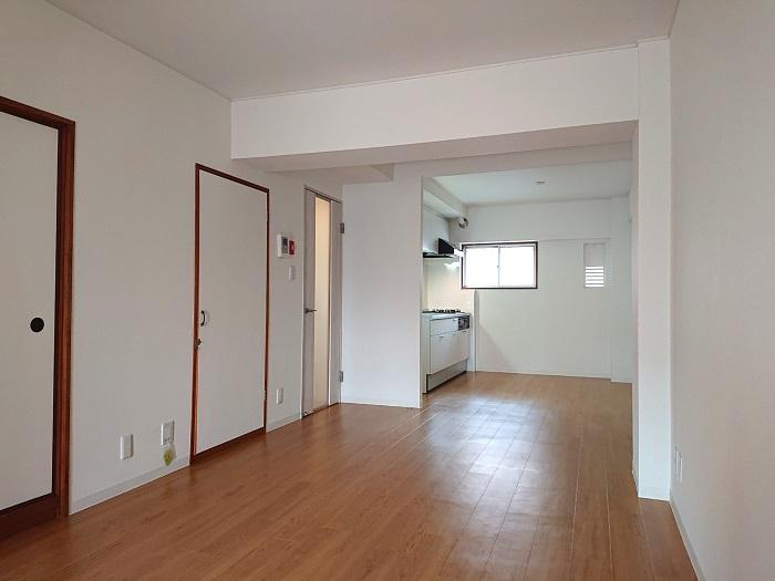 北野ハイツ510号室リビング