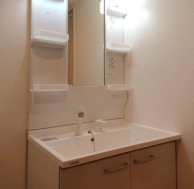 北野ハイツ510号室洗面台