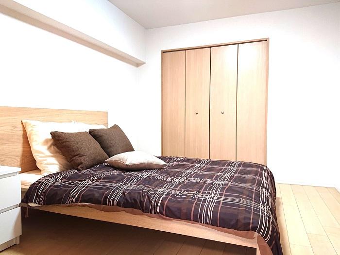 北野ハイツ320寝室