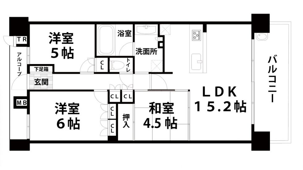 ベリスタ東淀川大桐C棟 10階