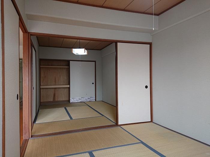 淡路パークハイツ2番館和室