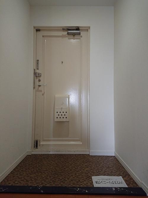 淡路パークハイツ2番館玄関