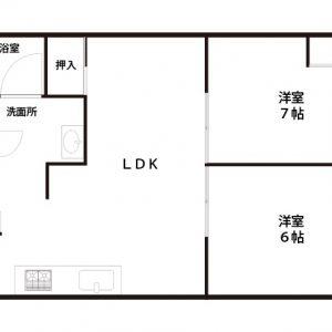 【中古マンション】瑞光コーポ 東淀川区瑞光4丁目 2LDK