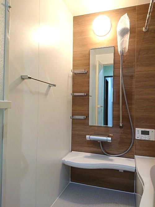 新築一戸建て 北別府町3-12 4LDK浴室
