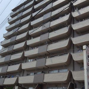 【中古マンション】淡路第2ダイヤモンドハイム 東淀川区菅原3丁目の外観