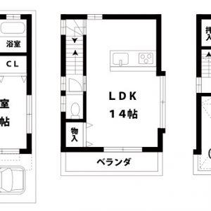 【中古一戸建て】東淀川区豊里2丁目 4LDK