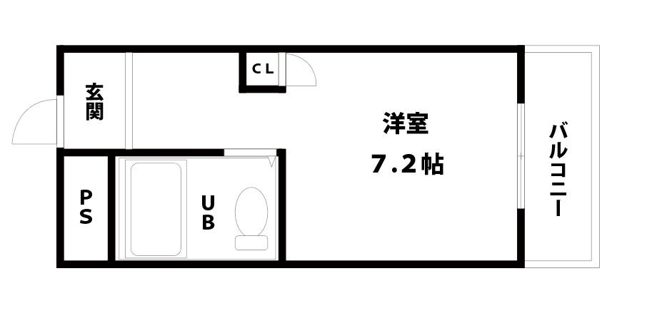 【賃貸】センチュリー21・東淀川区小松・2階部分の間取り